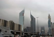 UAE weather raining