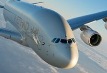 Etihad Airways A380 set to fly to Paris