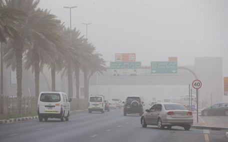 Weather alert: Poor visibility due to sand, dust forecast