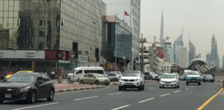 Dubai traffic fines