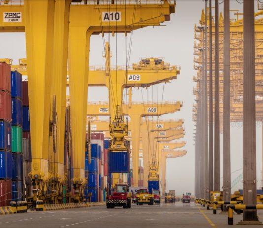 Jebel Ali port Dubai UAE Logistics