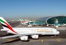 Emirates airline Dubai airport