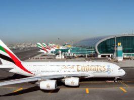 Emirates airline Dubai airport