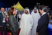 Sheikh Ahmed bin Saeed Al Maktoum & and Italian Trade Commissioner & Italian Consul General