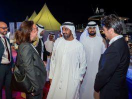 Sheikh Ahmed bin Saeed Al Maktoum & and Italian Trade Commissioner & Italian Consul General