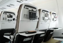 tihad Airways economy seat ATM 2019