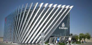 Emirates pavillion at Expo202