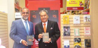 Indian Ambassador Suri visits Border's book store for book signing