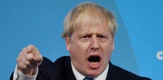 UK PM Boris Johonson