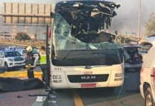 Dubai bus crash