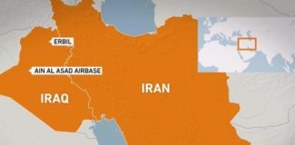 Iran missile attack on US bases in Iraq