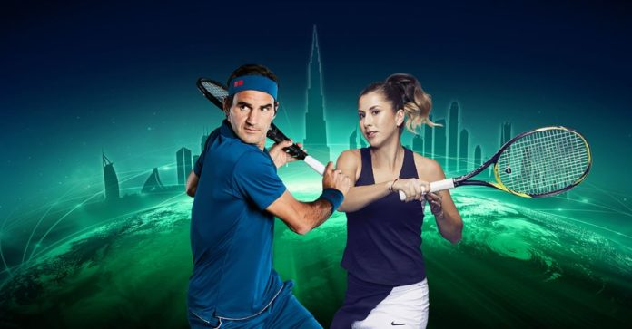 Roger Dubai Duty Free tennis championship