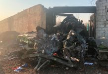 Ukraine plane crash in Iran