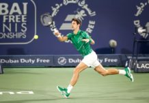 Novak Djokovic Dubai Duty Free Tennis
