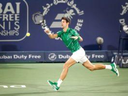 Novak Djokovic Dubai Duty Free Tennis