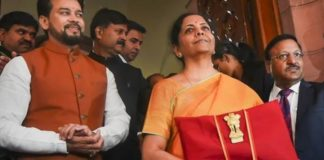 India budget 2020 Nirmala Sitharaman