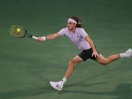 Stefanos Tsitsipas Dubai Duty Free Tennis