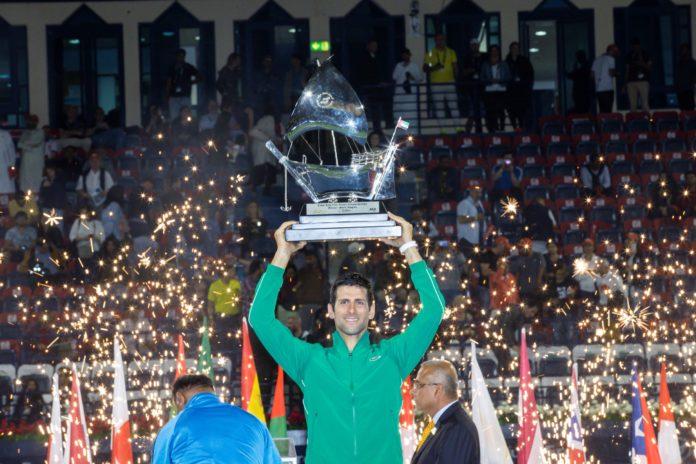 Dubai Duty Free Tennis, Djokovic