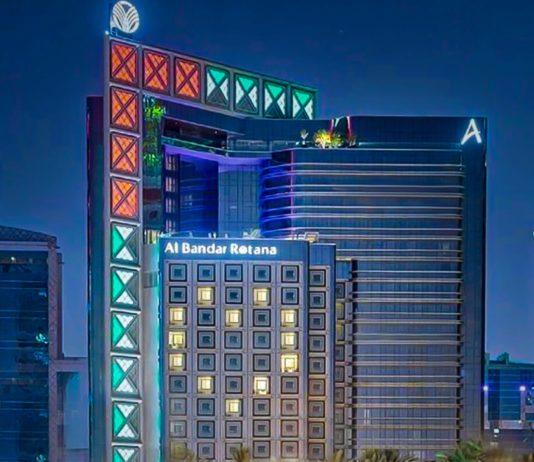 Al Bandar Rotana Dubai heart