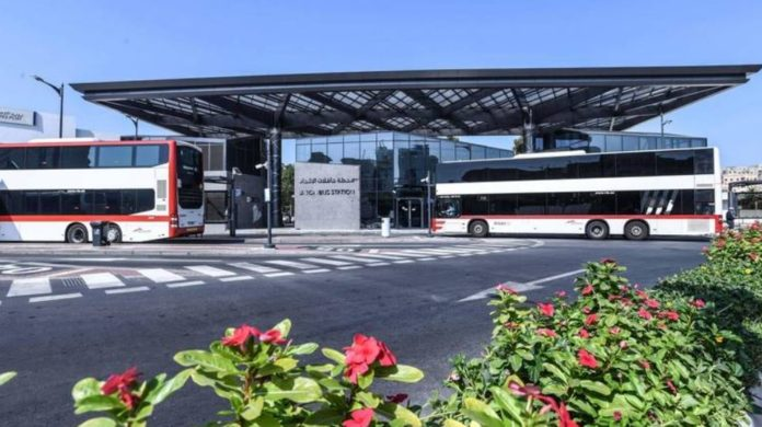 RTA mall-like bus stations in Dubai